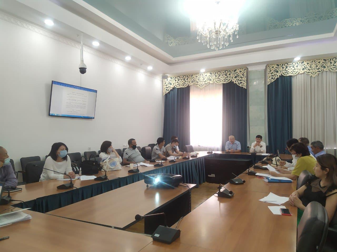 Проведено заседание рабочей группы по разработке проекта Кодекса КР «О недрах»