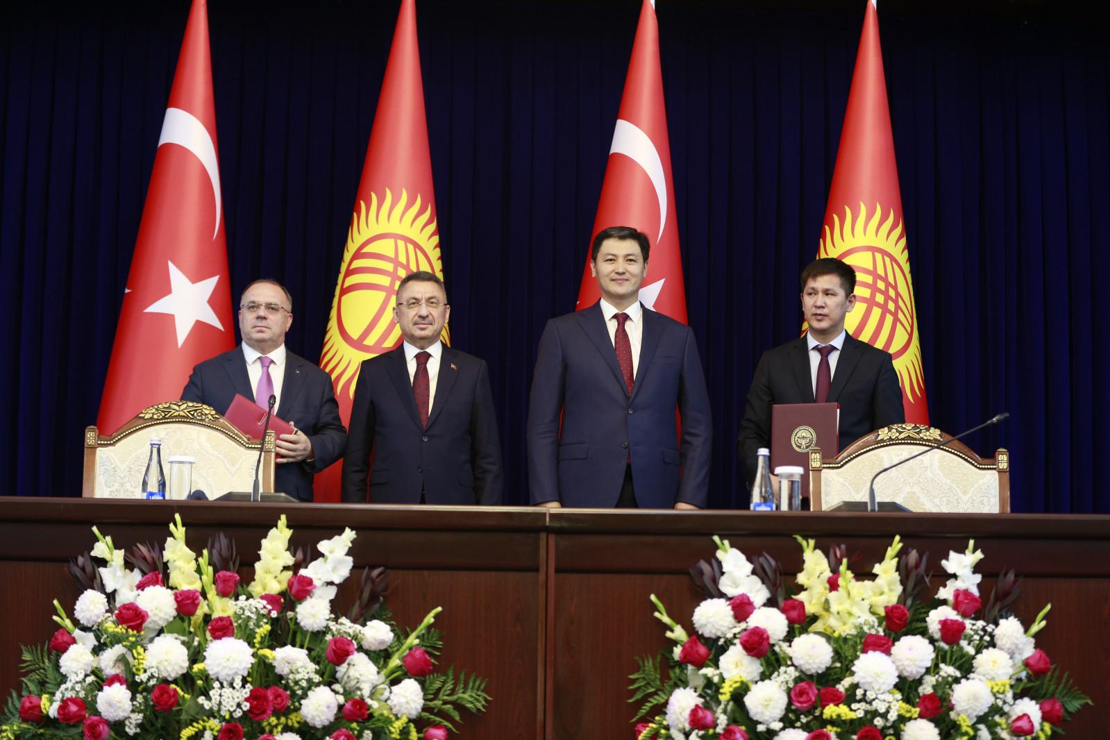 Подписан меморандум о взаимопонимании между Кабинетом Министров Кыргызской Республики и Правительством Турецкой Республики в горнодобывающей сфере
